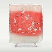 tokyo Shower Curtains featuring Tokyo by Fernando Vieira