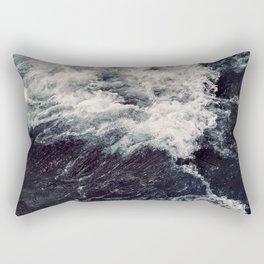 Rush of Waves Rectangular Pillow