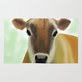 The Jersey - the prettiest cow in the world Rug