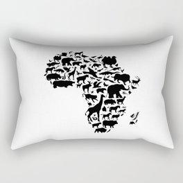 Animals of Africa Rectangular Pillow
