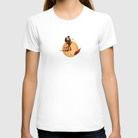 lovers T-shirts featuring Lovers by Robin Guinin
