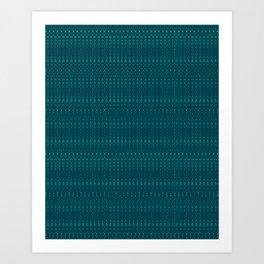 Pattern Design #001 Art Print