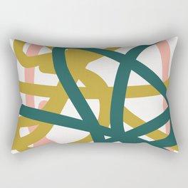 Abstract Lines 02A Rectangular Pillow