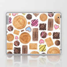 Selection of Sweets, Candy, Cakes and Biscuits Laptop & iPad Skin