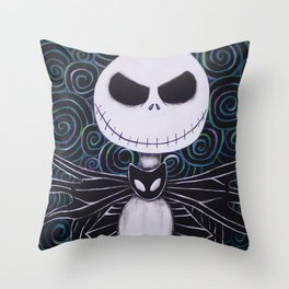 Jack Skellington Throw Pillow