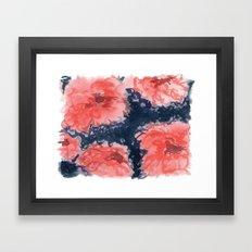 Stark Blumen Framed Art Print