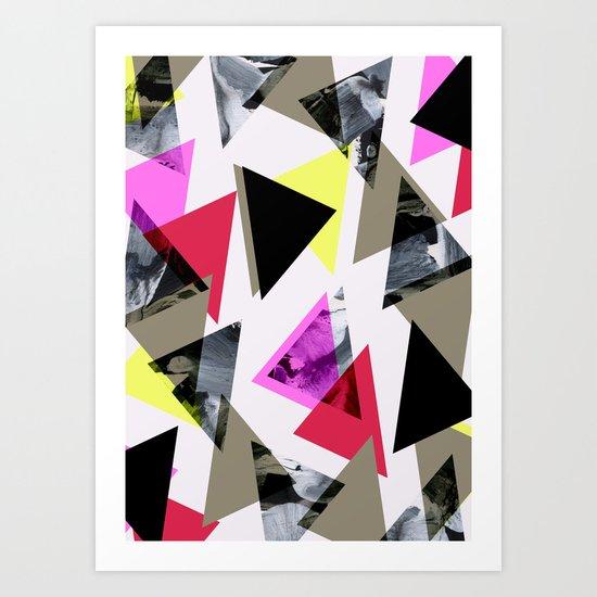 Graphic 481 Art Print