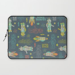 Robots from Outer space Laptop Sleeve