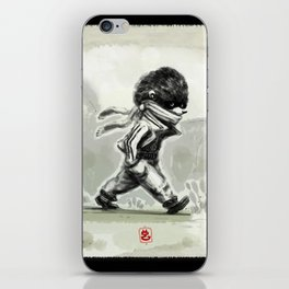 Horace, quietly wandering iPhone Skin