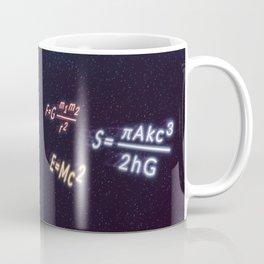 Ghosts in the Sky: Stephen Hawking and Albert Einstein Coffee Mug