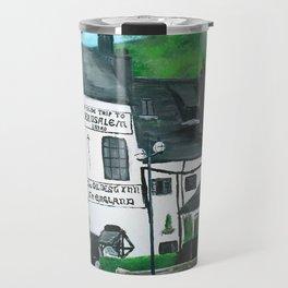 The Oldest Inn In England Acrylic Fine Art Travel Mug