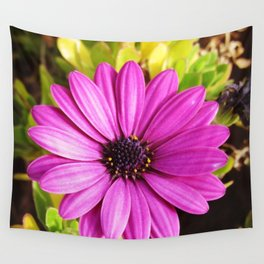 Downtown Blooms Wall Tapestry