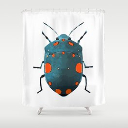 Bug One Shower Curtain