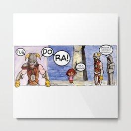 Dorakiin Metal Print