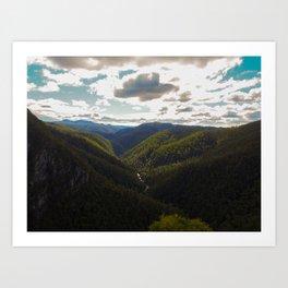 Tasmania Landscape Art Print