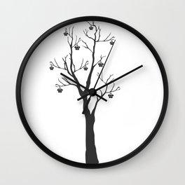 Rowan Tree Wall Clock