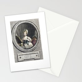 Her Size is so Ravishing 1776 Stationery Cards