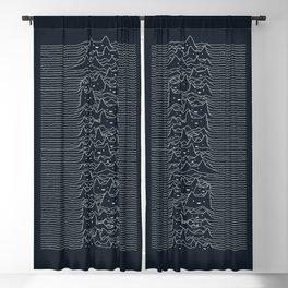 Furr Division Cats (Dark Blue) Blackout Curtain