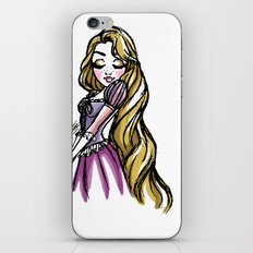 Rapunzel - Fairytale's Ladies Collection by LeleDraw iPhone & iPod Skin