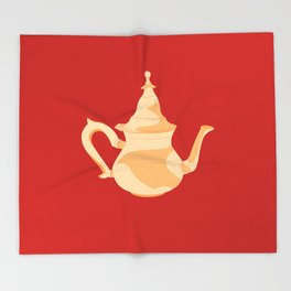 MADE IN MOROCCO #09-THE TEAPOT Throw Blanket