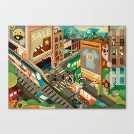 City Madness ( 2011 ) Canvas Print
