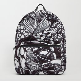 Zen Doodle Graphics zz12 Backpack