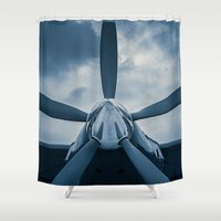 clear Shower Curtains featuring Clear Prop! by digital2real