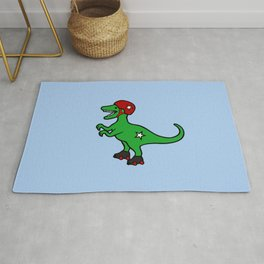 Roller Derby Velociraptor Rug