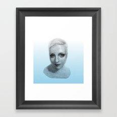 #36 Lash Framed Art Print