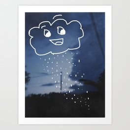 Chance of Rain Art Print