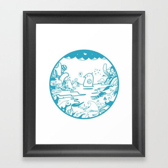 SkyLarking Framed Art Print