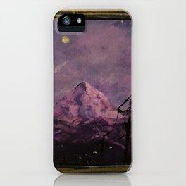 Mountain Luminescent iPhone Case