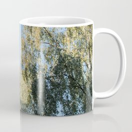 Open window in nature city street - summer nights - art photography Coffee Mug