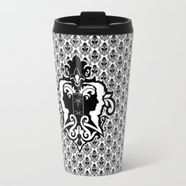 Detective's Damask Travel Mug