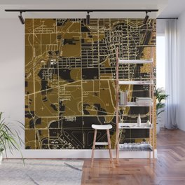 Fort Lauderdale old map year 1949, united states old maps Wall Mural
