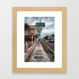 The Banyan Tree Motel Framed Art Print