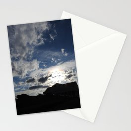 Sky in Downtown Maryville Stationery Cards