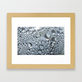 Condensed Framed Art Print