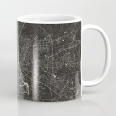 moscow map ink lines Mug