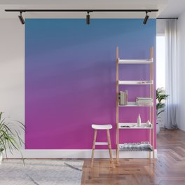 RETRO BLAST - Minimal Plain Soft Mood Color Blend Prints Wall Mural