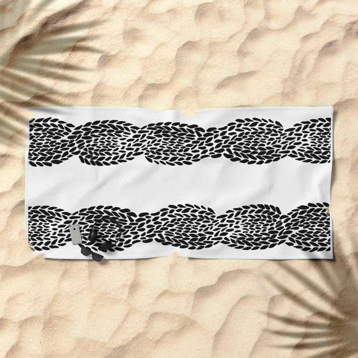 Cable 3 Beach Towel