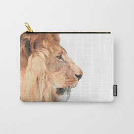 Lion Profile Carry-All Pouch