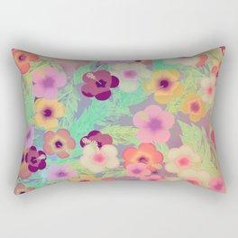 Hibiscus (The Rabbit Hole) Rectangular Pillow