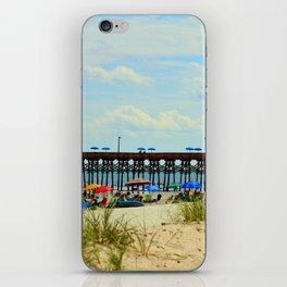 Beach And Pier iPhone Skin
