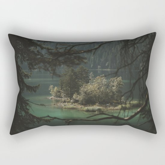 Framed by Nature - Landscape Photography Rectangular Pillow