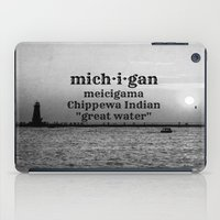 michigan iPad Cases featuring Michigan by KimberosePhotography