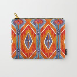 navajo ikat print medium Carry-All Pouch