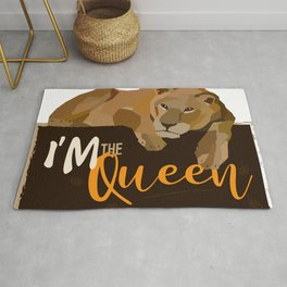 I am the queen Rug
