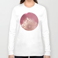 antique Long Sleeve T-shirts featuring Antique Rose by A Wandering Soul