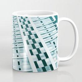 Turquoise Building Coffee Mug